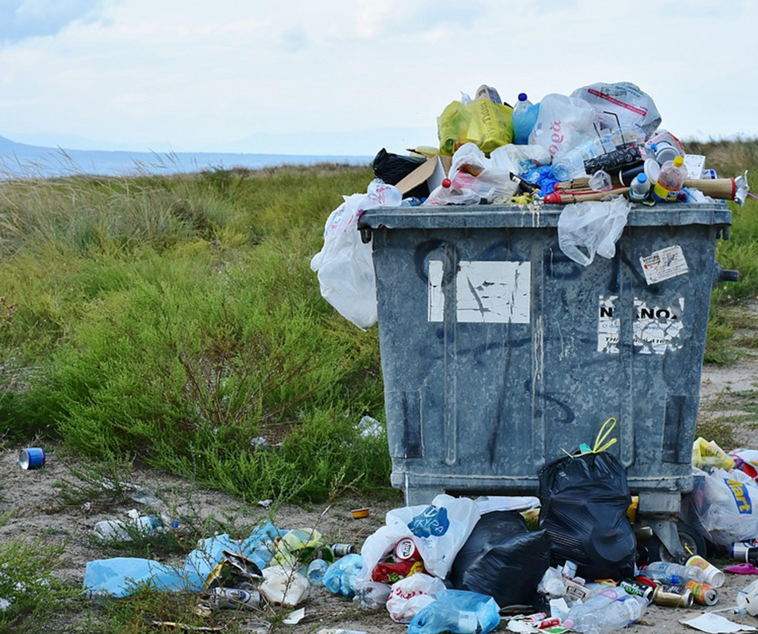 Zber objemného odpadu