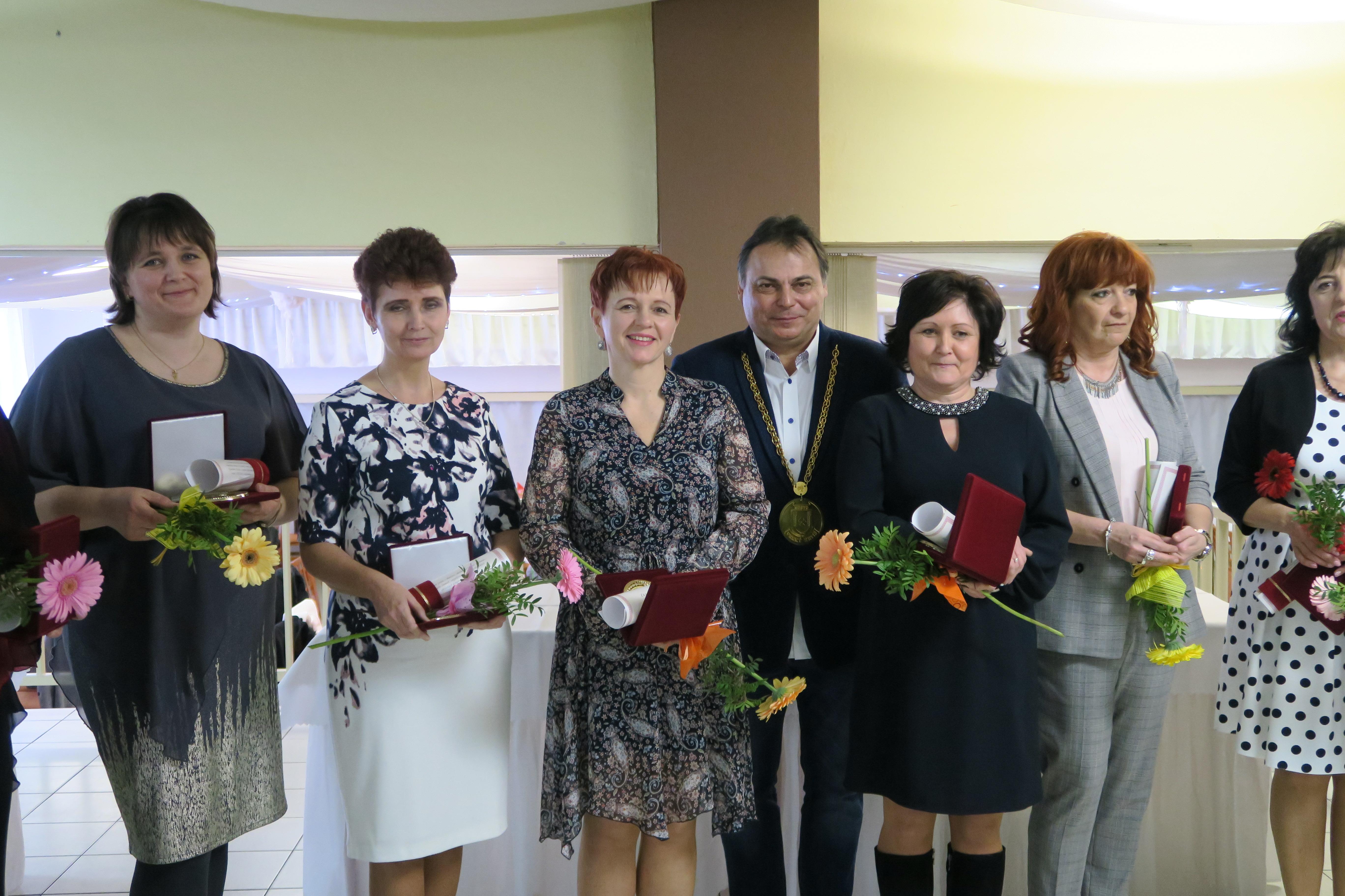 Ocenenie najlepších učiteľov