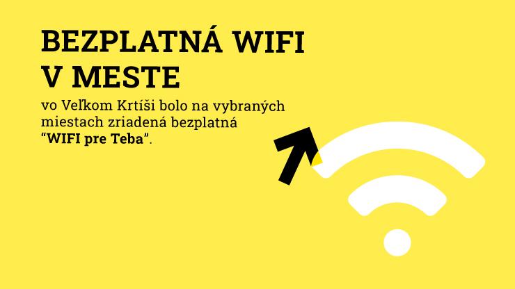 WiFi Pre Teba vo Veľkom Krtíši